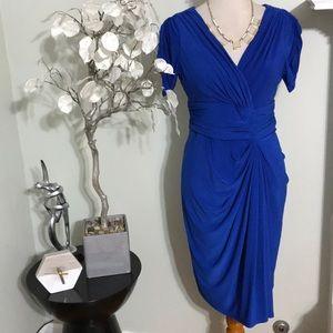 JONES NEW YORK RAY BLUE DRESS